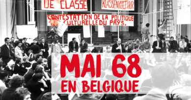 Mai 68 en Belgique